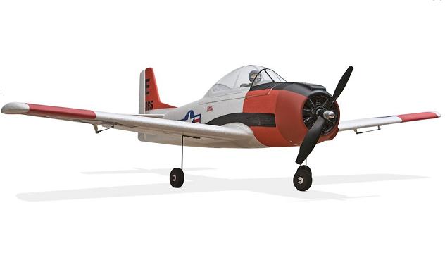Радиоуправляемый самолет ParkZone T-28 Trojan