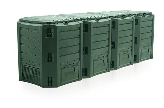 Компостер Module IKSM1600Z-G851Садовые компостеры<br><br><br>Тип: компостер<br>Объем, л: 1600