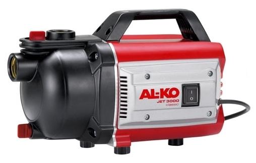 Насос AL-KO Jet 3500 ClassicНасосы<br>Мощность, надежность, экономия электроэнергии. Простота ввода в эксплуатацию. Мощный и надежный.<br><br>Глубина погружения: 8 м<br>Максимальный напор: 38 м<br>Пропускная способность: 3.4 куб. м/час<br>Напряжение сети: 220/230 В<br>Потребляемая мощность: 850 Вт<br>Качество воды: чистая<br>Установка насоса: горизонтальная