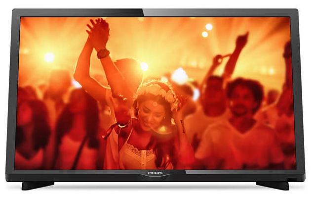 Жк телевизор Philips 24PHT4031/60ЖК и LED телевизоры<br>- Утонченные линии подчеркивают изящность дизайна<br>Изящный, современный, лаконичный дизайн. Неудивительно, что ультратонкий силуэт телевизора Philips притягивает к себе взгляд — это идеальное решение, которое прекрасно дополнит любой интерьер.<br><br>- Picture Performance Index улучшает каждый аспект изображения<br>Picture Performance Index сочетает в себе технологию Philips для дисплеев и усовершенствованные техники обработки для улучшения качества каждого аспекта изображения: четкости, динамичных сцен, контрастности и цветопередачи. Независимо от источника вы сможете наслаждаться...<br>