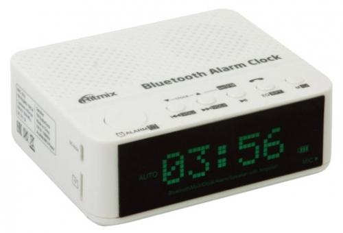 Радиобудильник Ritmix RRC-818 White