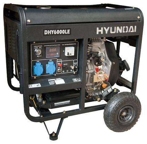 Электрогенератор Hyundai DHY-6000 LE