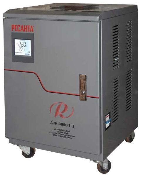 Стабилизатор напряжения Ресанта ACH-20000/1-ЦСтабилизаторы напряжения<br><br><br>Тип: стабилизатор напряжения