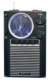 Радиоприемник Сигнал electronics РП-314Радиобудильники, приёмники и часы<br><br><br>Тип: Радиоприемник<br>Тип тюнера: Аналоговый<br>Колличество динамиков  : 1<br>Часы: Нет<br>Встроенный будильник  : Нет