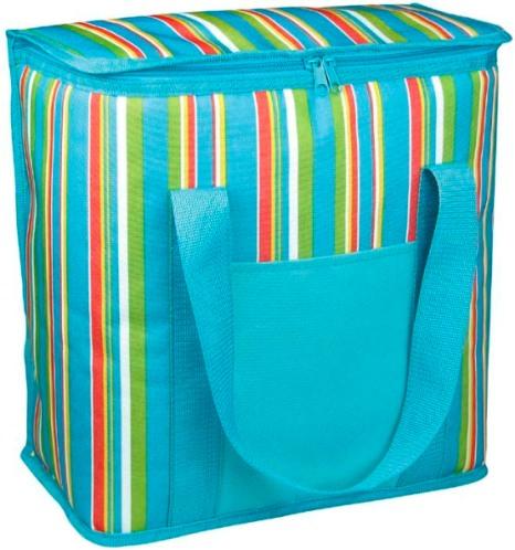 Термосумка Green Glade P1020Термосумки<br>Сумка-холодильник Green Glade P1020 привлекает не только стильной внешностью, но и доступной ценой. Она способна удерживать температуру не менее 12 часов. Сумка изготовлена из прочных текстильных материалов зеленого и голубого цветов. Практичный аксессуар пригодится любителям отдыха на природе. Green Glade P1020 имеет внушительную вместительность – 20 л. Внутреннее покрытие сумки изготовлено из фольги. В конструкции предусмотрена удобная ручка, упрощающая эксплуатацию. Габариты изделия привлекают компактностью и составляют 25х33х30 см.<br><br>Тип: термосумка<br>Объем, л: 20<br>Материал: полиэстер<br>Подкладка: фольга<br>Сохранение температурного режима: 12 ч