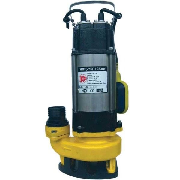 Насос Калибр НПЦ - 750/25 НКНасосы<br><br><br>Глубина погружения: 5 м<br>Максимальный напор: 12 м<br>Пропускная способность: 18 куб. м/час<br>Потребляемая мощность: 750 Вт<br>Качество воды: чистая<br>Размер фильтруемых частиц: 25 мм