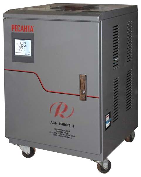 Стабилизатор напряжения Ресанта ACH-15000/1-ЦСтабилизаторы напряжения<br><br><br>Тип: стабилизатор напряжения