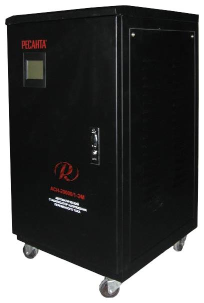 Стабилизатор напряжения Ресанта ACH-30000/1-ЭМСетевые фильтры и стабилизаторы<br><br><br>Тип: стабилизатор напряжения