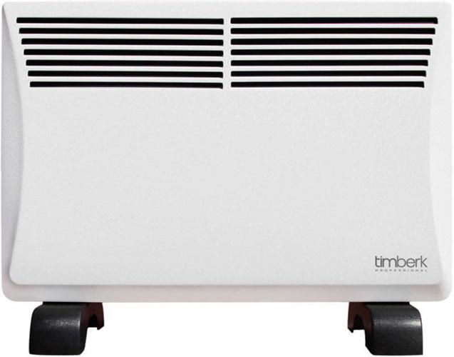 Конвектор Timberk TEC.PF2 ML10 IN (WB)Обогреватели<br>- У данной серии конвекторов используется специальное покрытие корпуса «почувствуй», за счет своей структуры и немного шероховатой поверхности, выше коэффициент теплоотдачи &amp;#40;увеличена скорость обогрева прибора на 12% по сравнению с другими&amp;#41;.<br>- Нагревательный элемент также более совершенный, &amp;#40;обрабатывается кварцевым песком струйно&amp;#41;. За счет такого нанесения также увеличивается теплоотдача прибора &amp;#40;на 27%&amp;#41; по сравнению с другими тэнами.<br>- Нагревательный элемент прибора: жесткий силуминовый &amp;#40;короткий утолщенный&amp;#41;, за счет этого...<br><br>Тип: конвектор<br>Максимальная мощность обогрева: 1000 Вт<br>Отключение при перегреве: есть<br>Отключение при опрокидывании: есть<br>Управление: механическое<br>Регулировка температуры: есть<br>Термостат: есть<br>Выключатель со световым индикатором: есть<br>Ионизатор: есть<br>Напряжение: 220/230 В