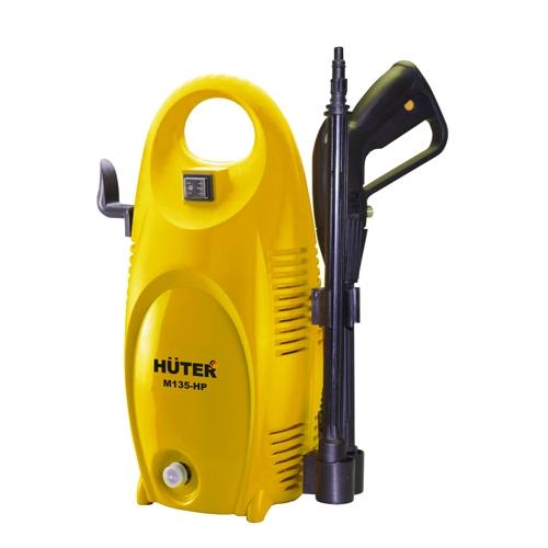Мойка высокого давления Huter M135-HPМойки высокого давления<br>Минимойка Huter M135-HP предназначена для очистки загрязненных поверхностей при помощи водяной струи под высоким давлением и имеет широкий спектр применения: для дома, для дачи, для автомобиля... Минимойку отличает высокое качество изготовления, современный дизайн и использование в конструкции высококачественных материалов.<br><br>Мойка высокого давления Huter M135-HP оснащена помпой из алюминиевого сплава, благодаря чему значительно увеличен срок её эксплуатации. А применение в мойке системы автоматической остановки двигателя автостоп позволяет...<br>