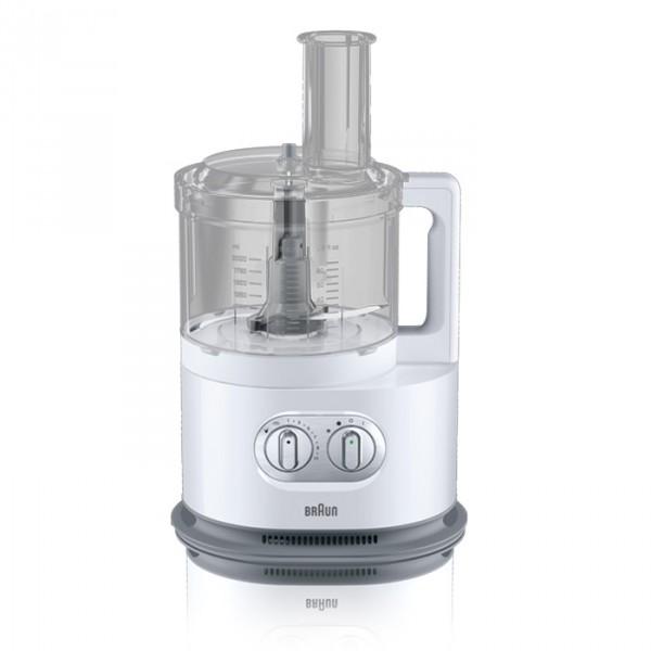 Кухонный комбайн Braun FP 5150 WHКухонные комбайны<br><br><br>Тип: Кухонный комбайн<br>Мощность, Вт: 1000<br>Емкость чаши, л: 2<br>Соковыжималка: Для цитрусовых