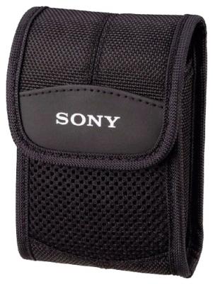 Чехол Sony LCS-CSTСумки, рюкзаки и чехлы<br><br><br>Тип: чехол<br>Описание : мягкий чехол из нейлона для переноски фотокамер Sony Cyber-shot™