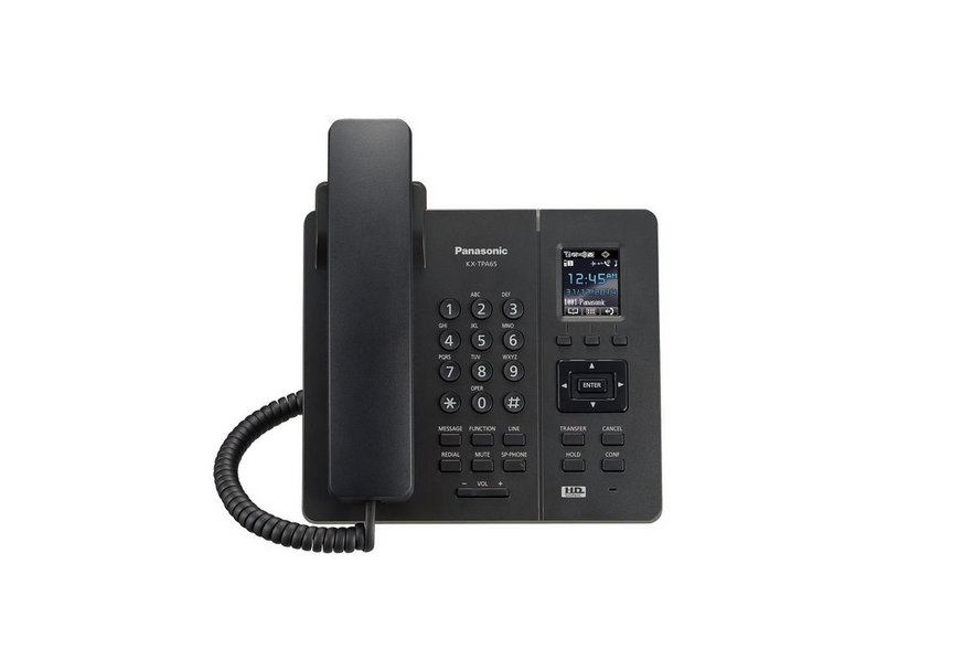 VoIP-телефон Panasonic KX-TPA65RUB