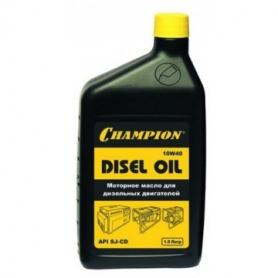 Масло дизельное Champion 10W-40 (1л)Аксессуары для пил<br><br><br>Тип: масло дизельное