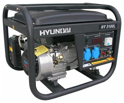 Электрогенератор Hyundai HY3100LEЭлектрогенераторы<br><br>