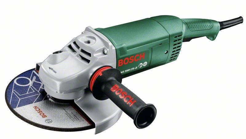 Угловая шлифмашина Bosch PWS 2000-230 JE [06033C6001]Шлифовальные и заточные машины<br><br>