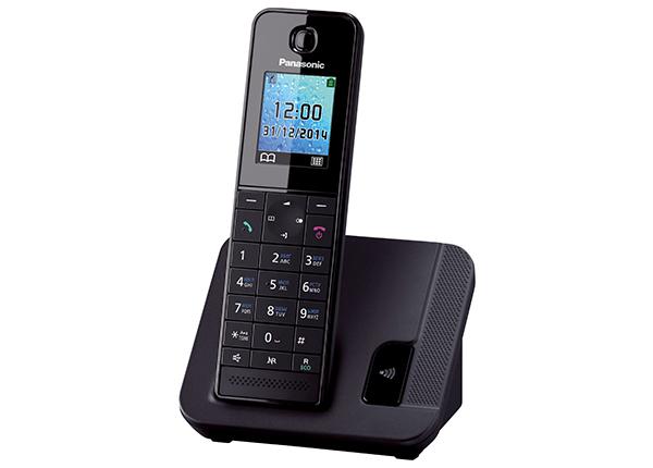 Радиотелефон Panasonic KX-TGH210RUBРадиотелефон Dect<br><br><br>Тип: Радиотелефон<br>Количество трубок: 1<br>Рабочая частота: 1880-1900 МГц<br>Стандарт: DECT<br>Радиус действия в помещении / на открытой местност: 50/300 м<br>Время работы трубки (режим разг. / режим ожид.): 14 / 250 ч<br>Полифонические мелодии: 40<br>Дисплей: на трубке (цветной)<br>Подсветка кнопок на трубке: Есть<br>Возможность настенного крепления: Есть