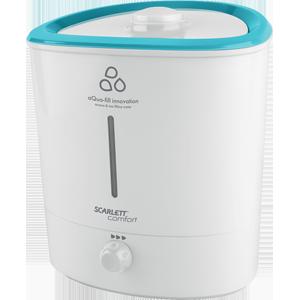 Увлажнитель Scarlett SC-AH986M12Осушители, очистители и увлажнители воздуха<br>- Увлажнение и ароматизация воздуха 2 в 1<br>- Инновационная конструкция прибора<br>- Технология Aqua-Fill - удобный долив воды без снятия бака<br>- Без проливания и утечек в процессе работы<br>- Дополнительная защита от шума<br>- Уникальная конструкция для снижения уровня шума и булькания<br>- Выдвижная аромакапсула<br>- Иллюминация - подсветка воды<br>- Производительность по увлажнения 300 мл/ч<br>- Надежная керамическая мембрана<br>- Автоотключение при отсутствии воды<br>- Распылитель пара с поворотом 360°<br>- Шкала оценки уровня воды<br>- Рекомендуемая площадь до 30 м2<br><br>Тип: Увлажнитель воздуха<br>Управление: механическое<br>Регулировка скорости вентилятора/интенсивности исп: есть<br>Установка: Напольная<br>Обслуживаемая площадь: 30 кв.м<br>Расход воды: 300 мл/ч<br>Описание: подсветка корпуса. Индикация низкого уровня воды