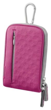 Чехол Sony LCS-TWM PinkСумки, рюкзаки и чехлы<br><br><br>Тип: чехол<br>Описание : легкий и стильный чехол для переноски фотокамер Sony Cyber-shot™