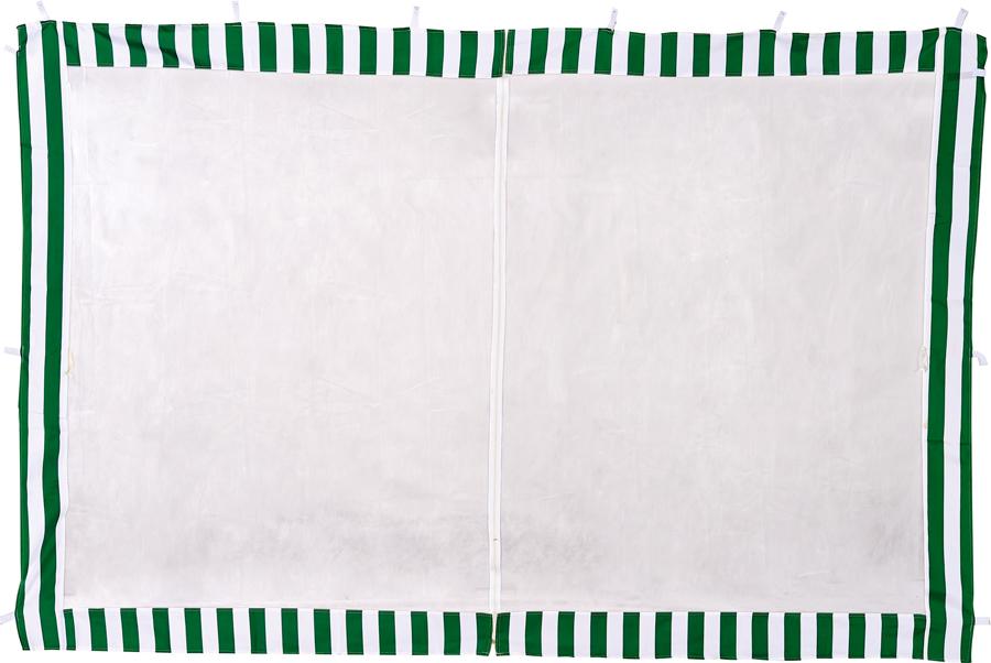 Стенка  Green Glade 4130Садовые тенты и шатры<br><br><br>Тип: Стенка<br>Покрытие: полиэстер на молнии, крепление - липучка<br>Размеры упаковки: 43х32х45 см