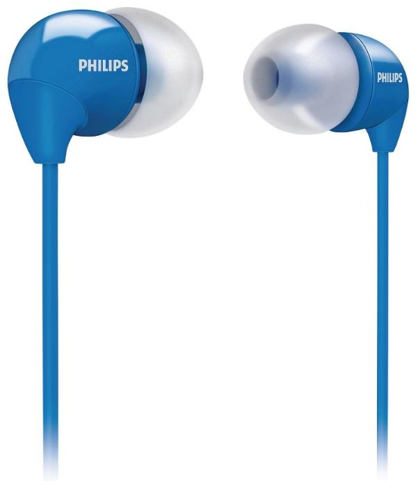 Наушники Philips SHE3590BL/10Наушники и гарнитуры<br>Синие наушники Philips: идеальное качество и стиль.<br><br><br>  <br><br><br><br>  <br><br><br>Синий цвет издревле олицетворял спокойствие. Это цвет неба и воды, а еще это очень модный тренд! Синие наушники Philips можно носить из соображений символического значения этого цвета или его модной актуальности &amp;mdash; выбор за вами. Главное, что эти наушники передают ваши любимые музыкальные треки в идеальном качестве звучания! С ними скучать вам не придется, это точно!<br><br><br>  <br><br><br>Вы считаете себя яркой индивидуальностью? Тогда советуем дополнить ваш стильный и запоминающейся образ такими...<br><br>Тип: наушники<br>Тип акустического оформления: Открытые<br>Вид наушников: Вставные<br>Тип подключения: Проводные<br>Номинальная мощность мВт: 50<br>Диапазон воспроизводимых частот, Гц: 12 - 23500<br>Сопротивление, Импеданс: 16<br>Чувствительность дБ: 102<br>Микрофон: нет