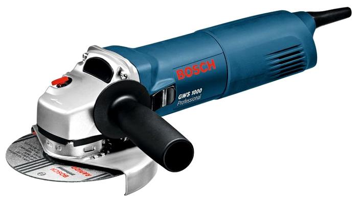 Угловая шлифмашина Bosch GWS 1000 [06018218R0]