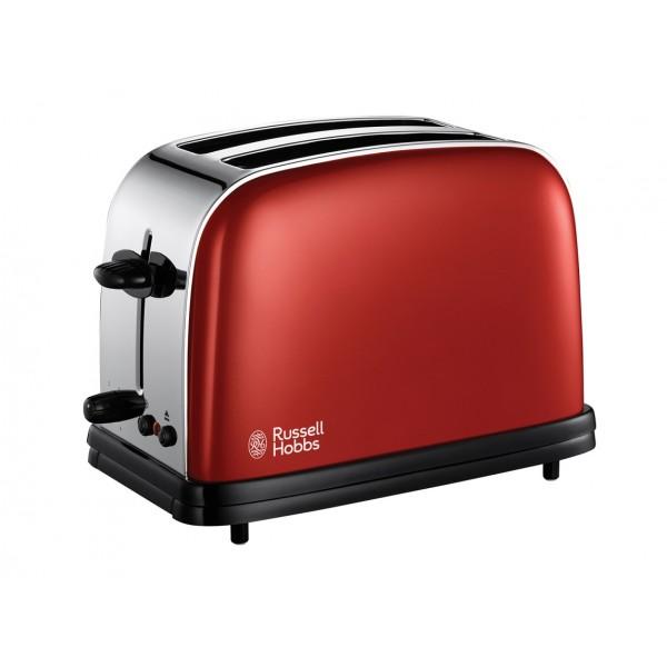 Тостер Russell Hobbs 18951-56Тостеры и минипечи<br><br><br>Тип: тостер<br>Мощность, Вт.: 1100<br>Тип управления: Механическое<br>Количество отделений: 2<br>Количество тостов: 2