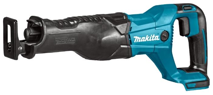 Сабельная пила Makita DJR186RFEПилы<br>Аккумуляторная сабельная пила Макита DJR 186RFE представляет собой практичное мобильное устройство, по характеристикам подходящее многим применяющим подобные агрегаты мастерам.<br><br>Использование Makita DJR186RFE<br>Данная ножовка предназначена для распиливания древесины и металлических труб. Она имеет высокую скорость реза и позволяет достаточно быстро производить соответствующие работы. Конструкция этого инструмента дает возможность применять его с максимальным комфортом, не испытывая абсолютно никаких трудностей даже при достаточно продолжительном...<br><br>Тип: сабельная пила<br>Конструкция: ручная<br>Работа с металлом: есть<br>Функции и возможности: торможение двигателя, плавная регулировка скорости