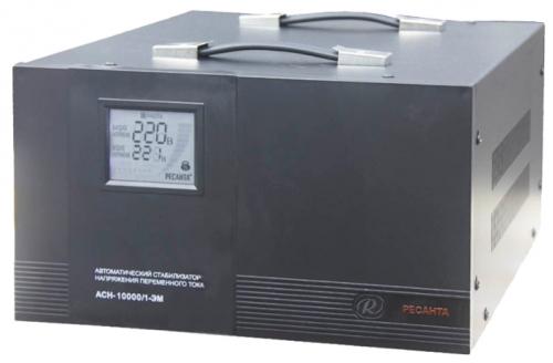 Стабилизатор напряжения Ресанта ACH-10000/1-ЭМСтабилизаторы напряжения<br><br>