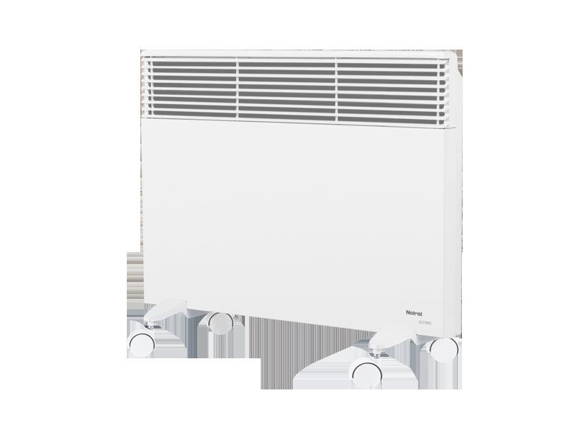 Конвектор Noirot Spot E-Pro 1000Обогреватели<br>Желаете обогреть помещение и придать интерьеру особый оттенок, тогда стоит заказать мощный&amp;nbsp;&amp;nbsp;конвектор Noirot, который в своей конструкции содержит цельный нагревательный элемент.<br><br> Электронное управление прибора Noirot Spot E-Pro 1000&amp;nbsp;&amp;nbsp; обуславливает возможность быстрого восстановления рабочего режима при колебаниях напряжения. Noirot Spot E-Pro 1000&amp;nbsp;&amp;nbsp;отличается бесшумной работой. Исключительно положительные отзывы и цена, установленная на обогреватель, дает возможность приобретать его для обогрева любых помещений. Достаточно по фото сделать...<br><br>Тип: конвектор<br>Максимальная мощность обогрева: 1000<br>Площадь обогрева, кв.м: 15<br>Отключение при перегреве: есть<br>Влагозащитный корпус: есть<br>Управление: электронное<br>Термостат: есть<br>Защита от мороза : есть<br>Дисплей: есть<br>Настенный монтаж: есть