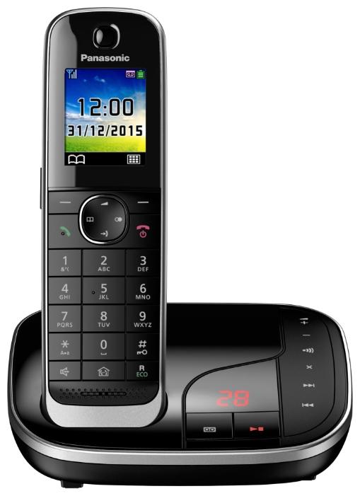 Радиотелефон Panasonic KX-TGJ320RUBРадиотелефон Dect<br><br><br>Тип: Радиотелефон<br>Рабочая частота: 1880-1900 МГц<br>Стандарт: DECT/GAP<br>Время работы трубки (режим разг. / режим ожид.): 15 / 250 ч<br>Полифонические мелодии: 40<br>Дисплей: на трубке (цветной)<br>Подсветка кнопок на трубке: Есть<br>Журнал номеров: 50 номеров<br>Количество аккумуляторов: 2<br>Формат: AAA