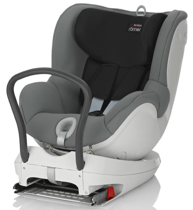 Детское автокресло Britax Romer Dualfix Steel GreyДетские автокресла<br>Благодаря повороту кресла DUALFIX на 360° вы можете легко разместить своего ребенка в сиденье и устанавливать кресло как по ходу движения, так и против движения автомобиля. <br><br>Первоначально кресло используется в положение лицом против направления движения при весе ребенка до 9 кг, затем вы можете или оставить ребенка лицом против направления движения или повернуть его лицом по направлению движения. Благодаря такой гибкости кресло подходит для новорожденных и для детей старшего возраста. <br><br>Кресло оснащено всеми устройствами обеспечения безопасности,...<br>