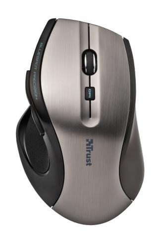 Компьютерная мышь Trust MaxTrack Wireless Mini Mouse Grey-Black USB (17177)Компьютерные мыши<br>Trust MaxTrack Wireless Mini Mouse — компактная беспроводная оптическая мышь с микроприемником, хранящемся в специальном отсеке корпуса и чувствительностью 1000 dpi.<br><br>Основные характеристики:<br>- Высокоточный датчик BlueSpot, работающий практически на любой поверхности, такой как дерево, гранит, коврик, поверхность белого и черного цвета и т. п.<br>- Частота передачи сигнала 2.4 ГГц обеспечивает плавное движение и диапазон работы 6 метров<br>- Сверхкомпактный USB-приемник: вставьте его один раз и никогда не вынимайте<br>- Специальная кнопка переключения чувствительности для стандартного...<br><br>Тип: оптическая светодиодная<br>Назначение: настольный ПК<br>Тип беспроводной связи: радиоканал<br>Радиус действия беспроводной связи, м: 6<br>Цвет: комбинированный<br>Трекбол: нет<br>Дизайн: для правой руки<br>Колесо прокрутки: есть
