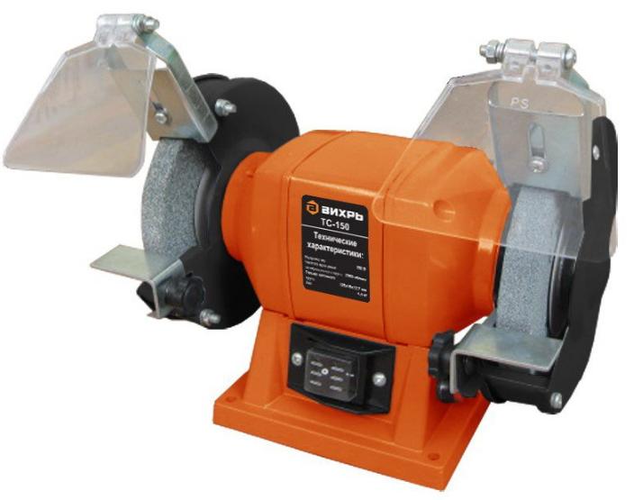 Точильный станок Вихрь ТС-150Шлифовальные и заточные машины<br><br>