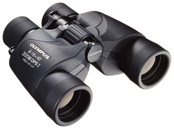 Бинокль Olympus 8-16x40 Zoom DPS IБинокли<br><br><br>Тип: бинокль<br>Увеличение: 8-16x<br>Диаметр объектива: 40 мм<br>Угловое поле зрения реальное: 3.4-5°<br>Поле зрения на расстоянии 1000 м: 59-87<br>Тип призмы: Porro<br>Регулировка расстояния между зрачками: есть, 60-70 мм