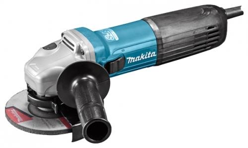 Угловая шлифмашина Makita GA4540Шлифовальные и заточные машины<br>Болгарка Makita GA4540 представляет собой достаточно удобный производительный инструмент, который имеет мощность 1100 Вт. Чтобы купить эту УШМ сегодня не требуется прикладывать практически никаких усилий. У нас в интернет-магазине сделать заказ на нее можно примерно за три-четыре минуты. Также быстро и легко есть возможность изучить характеристики данной шлифовальной машины. Что касается цены описываемого устройства, то она относительно невысокая. Другие выпущенные под этим брендом болгарки также имеются в продаже, что дает возможность подобрать...<br><br>Описание: длина сетевого кабеля 2.5 м