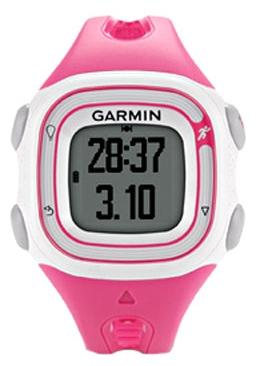 GPS-навигатор Garmin Forerunner 10 Pink/WhiteGPS навигаторы<br>Garmin Forerunner 10 Pink/White: специально для девушек.<br>  Девушкам нужно держать себя в хорошей физической форме. Для этого, как известно, существуют утренние и вечерние пробежки. А чтобы лишние калории сжигались побыстрее, с собой стоит взять спортивный GPS навигатор Garmin Forerunner 10 Pink/White. Он подскажет, сколько километров вы уже успели пробежать, сколько калорий потратили, а также укажет время и темп вашего бега.<br>Яркий розовый цвет в сочетании с белым — это идеальное дизайнерское решение, которое придется по вкусу любой девушке. Кроме замечательного дизайна и...<br>