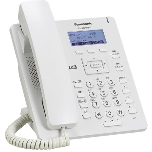VoIP-телефон Panasonic KX-HDV100RUSIP-телефоны<br><br><br>Поддержка SIP: есть<br>Интерфейсы: LAN<br>Встроенная телефонная книг: 500 контактов<br>Конференц-связь: есть<br>Web-интерфейс: есть