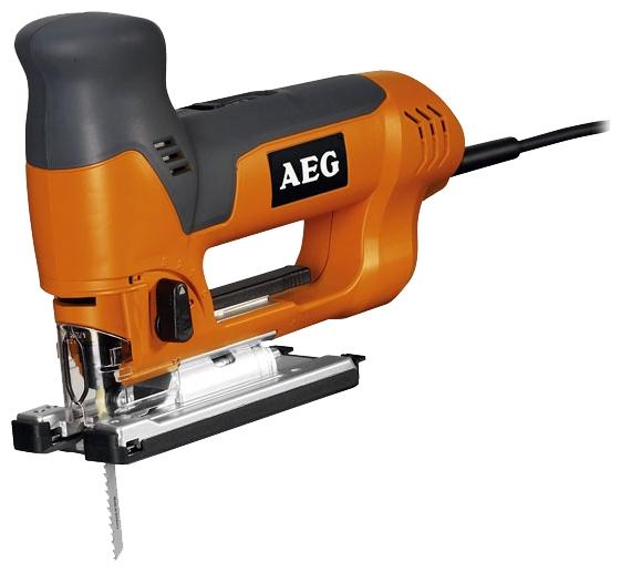 Лобзик AEG 412978 ST 700 EЛобзики электрические<br>Лобзик AEG ST 700 E 412978 предназначен для выполнения прямых и фигурных пропилов. Направляющий ролик увеличивает точность реза и предотвращает перелом пильного инструмента. Благодаря интегрированному переходнику для удаления пыли, можно подключать пылесос и сохранять рабочую поверхность в чистоте. Резиновая накладка на подошве не портит обрабатываемый материал.<br><br>Потребляемая мощность: 705 Вт<br>Частота движения пилки: 600 - 2700 ходов/мин<br>Длина хода: 26 мм<br>Глубина пропила дерева: 110 мм<br>Глубина пропила алюминия: 25 мм<br>Глубина пропила стали: 10 мм<br>Рукоятка: грибовидная, обрезиненная<br>Работа от аккумулятора: нет