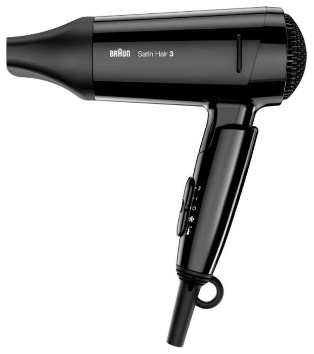 Фен Braun HD 350 Satin Hair 3Фены и щипцы<br><br><br>Тип: Фен<br>Мощность, Вт: 1600<br>Насадки в комплекте: концентратор<br>Петля для подвешивания: Есть<br>Количество режимов: 2<br>Функция ионизации: Есть