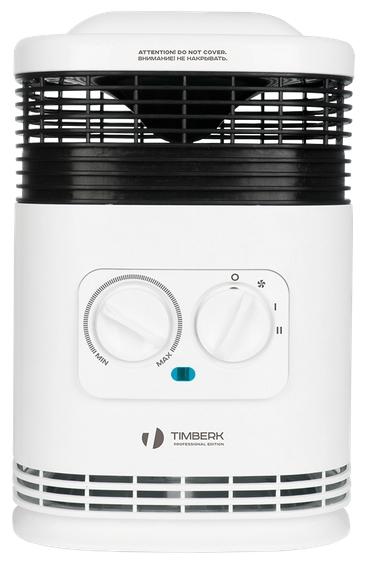 Термовентилятор Timberk TFH F15TDAОбогреватели<br><br><br>Тип: термовентилятор<br>Максимальная мощность обогрева: 1500 Вт<br>Тип нагревательного элемента: керамический нагреватель<br>Отключение при опрокидывании: есть<br>Вентилятор : есть<br>Управление: механическое<br>Регулировка температуры: есть<br>Термостат: есть<br>Защита от мороза : есть<br>Выключатель со световым индикатором: есть