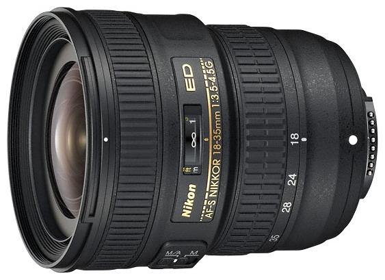 Объектив Nikon AF-S 18-35mm f/3.5-4.5G ED (JAA818DA)