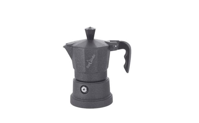 Кофеварка Top Moka Caffettiera Top 6 п. teflon BlackКофеварки и кофемашины<br><br><br>Тип : гейзерная кофеварка<br>Объем, л: 0,24