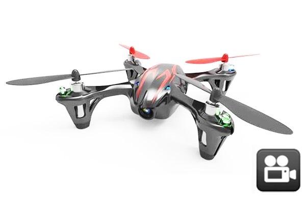 Квадрокоптер Hubsan X4 Mini + видеокамера