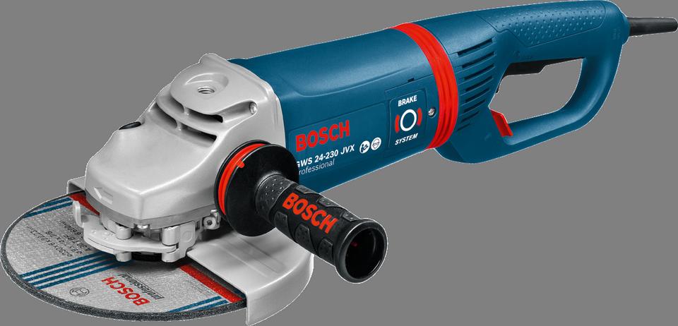 Угловая шлифмашина Bosch GWS 24-230 JVX [0601864504]Шлифовальные и заточные машины<br><br>