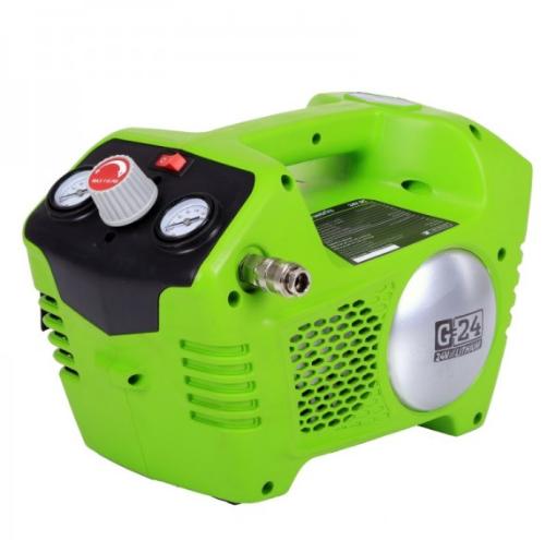 Компрессор GreenWorks G24AC 4100302Воздушные компрессоры<br><br>
