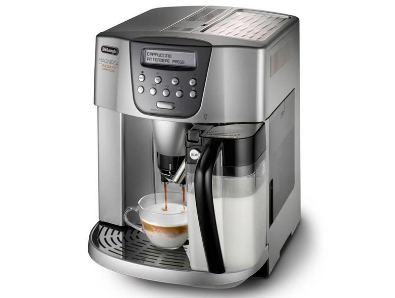 Кофеварка DeLonghi ESAM 4500.SКофеварки и кофемашины<br>Delonghi esam 4500 s готовит кофе по всем правилам.<br> <br> Даже истинные ценители кофе дают высший бал кофемашине Delonghi esam 4500 s, а уж они-то знают толк в этом напитке! Все дело не только в удобном интуитивном управлении кофеваркой и в высокой скорости приготовления любого кофе. Причина того, что эта кофемашина пользуется огромной популярностью, заключается, в первую очередь, в неизменно высоком качестве кофе, который она готовит. Строгое следование традиционным рецептам и создание идеальных условий для вашего любимого кофе — вот в чем главная причина популярности...<br><br>Тип используемого кофе: Зерновой\Молотый<br>Мощность, Вт: 1200<br>Объем, л: 1<br>Давление помпы, бар  : 15<br>Материал корпуса  : Пластик<br>Встроенная кофемолка: Есть<br>Емкость контейнера для зерен, г  : 150<br>Одновременное приготовление двух чашек  : Есть<br>Съемный лоток для сбора капель  : Есть