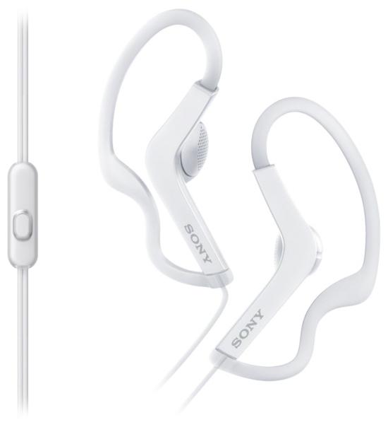Наушники Sony MDR-AS210AP WhiteНаушники и гарнитуры<br><br><br>Тип: наушники<br>Тип акустического оформления: Открытые<br>Вид наушников: Вкладыши<br>Тип подключения: Проводные<br>Диапазон воспроизводимых частот, Гц: 17 - 22000<br>Сопротивление, Импеданс: 16 Ом<br>Чувствительность дБ: 104<br>Микрофон: есть