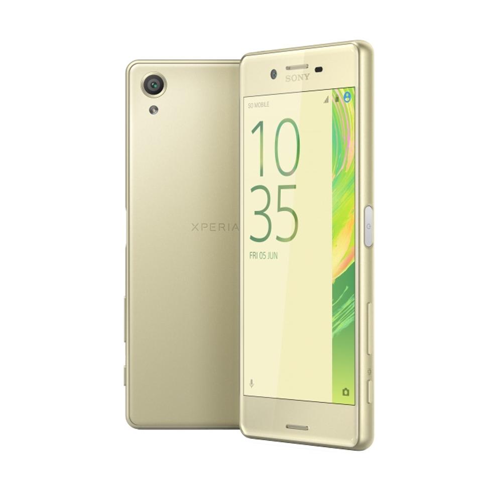 Мобильный телефон Sony F 5122 Xperia X Dual Lime GoldМобильные телефоны<br><br><br>Тип: Смартфон<br>Поддержка двух SIM-карт: есть<br>Операционная система: Android 6.0<br>Встроенная память: 64 Гб<br>Разъём для карт памяти: microSD<br>Фотокамера: 23 Мп<br>Форматы проигрывателя: FLAC, MP3, WAV<br>Разъем для наушников: 3.5 мм<br>Процессор: Qualcomm Snapdragon 650<br>Количество ядер процессора: 6