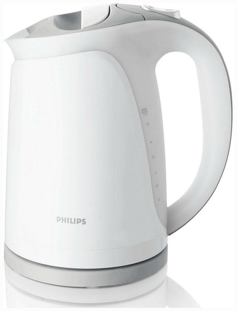 Чайник Philips HD 4681/05Чайники и термопоты<br><br><br>Тип   : Электрочайник<br>Объем, л  : 1.7<br>Мощность, Вт  : 2400<br>Тип нагревательного элемента: Плоский нагревательный элемент<br>Покрытие нагревательного элемента  : Нержавеющая сталь<br>Материал корпуса  : пластик<br>Вращение на 360 градусов  : Есть<br>Автоотключение при закипании  : Есть<br>Количество температурных режимов  : 1<br>Таймер  : Нет
